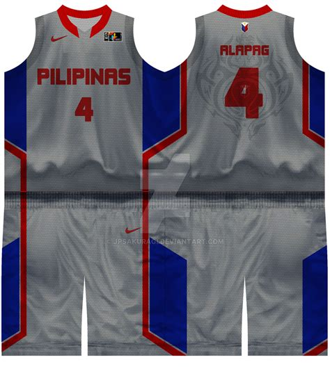 jersey design basketball 2015 pba gilas pilipinas home jersey by jpsakuragi on deviantart