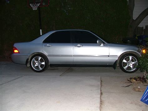 2000 acura rl 3 5l with new wheels exterior