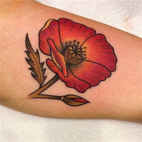 poppycock tattoo poppy tattoos designs ideas and meaning tattoos for you