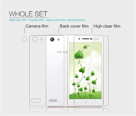 Anti Oppo Neo 7 A33 nillkin clear anti fingerprint protective for