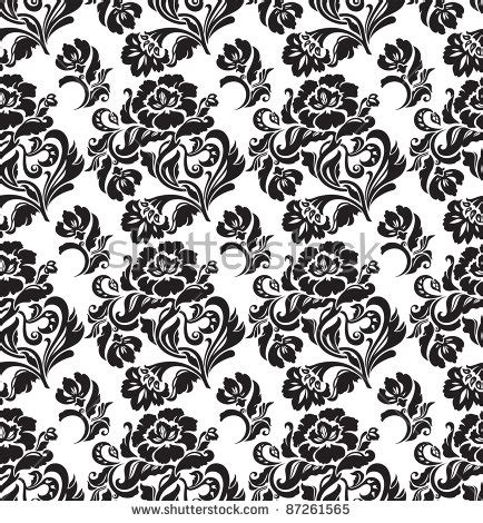 svg pattern bitmap seamless pattern ornament floral decorative background
