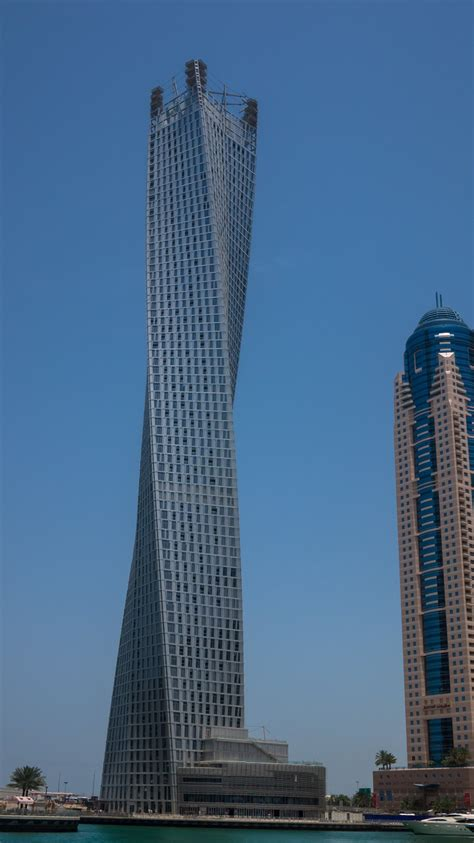 best towers in dubai marina cayan tower