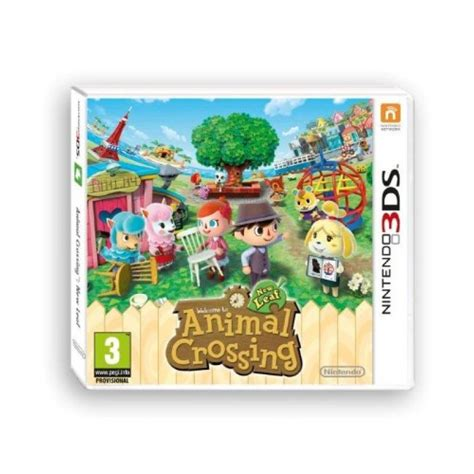 animal crossing new leaf 3ds console nintendo animal crossing new leaf per 3ds nintendo