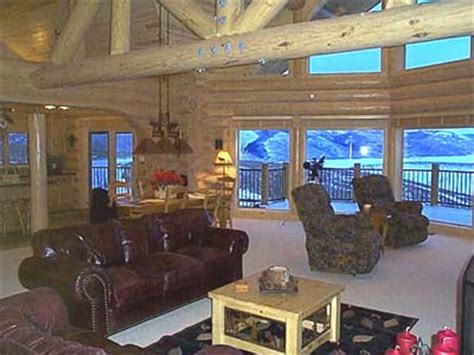 Beautiful Log Home Interiors by Log Home Design Photos Interiors