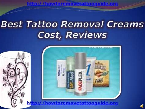what is the best tattoo removal cream on the market removal price on removal