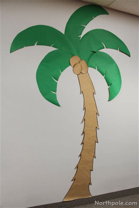 How To Make A Paper Palm Tree - step 2