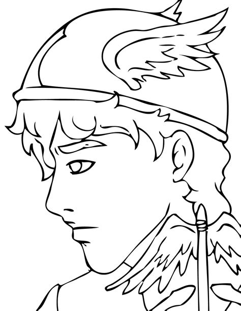 coloring pages gods mythology printable coloring pages