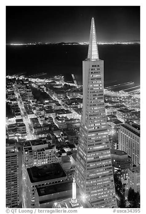 Carnelian Room San Francisco by Black And White Picture Photo Transamerica Pyramid At