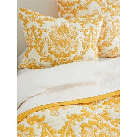 Damask Quilts by Damask Quilt Mustard