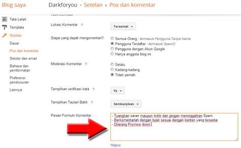 membuat form komentar dengan html membuat pesan form komentar bma lovers