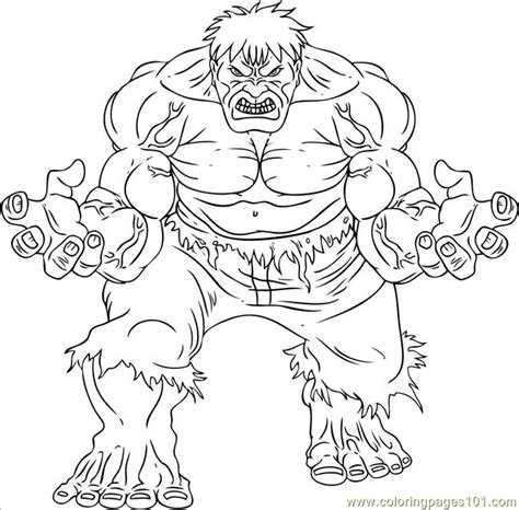 coloring page incredible hulk free incredible hulk printable coloring pages