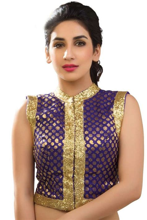Blouse Semi Kaftan Branded 17 best images about designer blouses on gold lace indian fashion designers