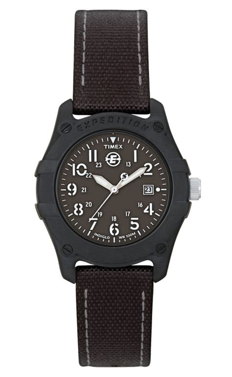 Expedition 6645 Silver Canvas 1 timex expedition canvas t49692 163 29 75 from