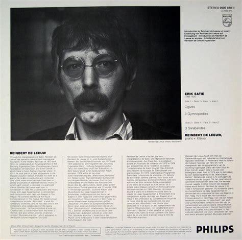 Erik Satie Piano Works Vinyl - erik satie reinbert de leeuw early piano works vol