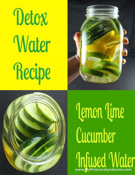Lemon And Lime In Water Detox by Detox Lemon Lime Cucumber Infused Water