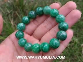 Gelang Dari Batu Giok gelang batu giok jade asli kode 487 wahyu mulia