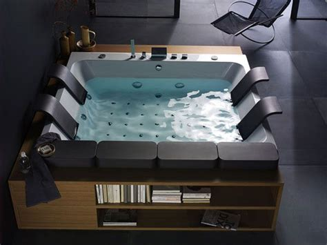 large luxury bathtubs new thais art whirlpool bathtub by blubleu freshome com