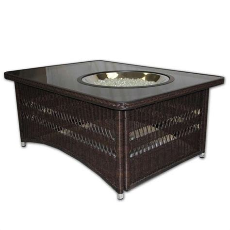 outdoor greatroom company naples coffee table with