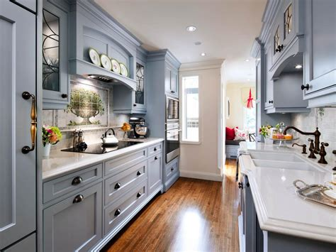 Best Designed Kitchens Cottage Charm A Blue Traditional Kitchen With Contemporary Flair And Whimsical Touches