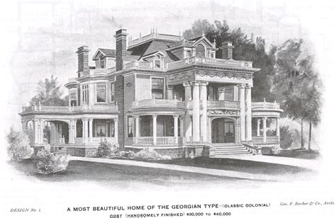 george barber house plans george f barber homes