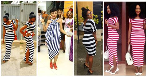 a million style africa fashion gallery 5 amazing stripe dresses in a million