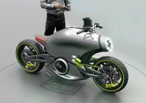 Concept Bike The Porsche 618 Electric Motorcycle Concept Newfoxy
