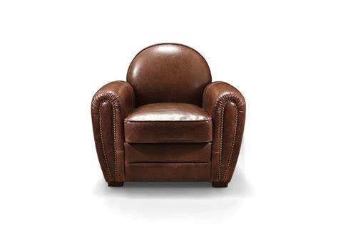 fauteuil club cuir vieilli le fauteuil club en cuir 1930 ancien 224 clous