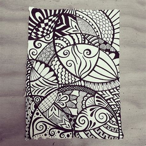 doodle artists india moving in circles indian rag paper zen doodle using