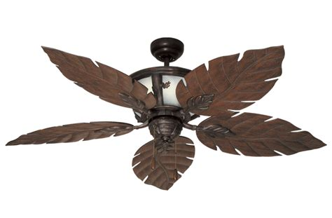 tropical ceiling fan blades tropical ceiling fan w 52 quot weathered brick blades the