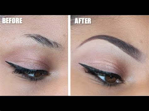 youtube tutorial eyebrow the perfect eyebrow tutorial youtube