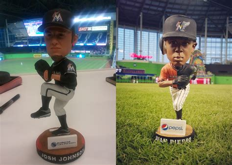 Marlins Bobblehead Giveaway - bobblehead blog marketing lessons from dodgers magic johnson bobblehead hunt