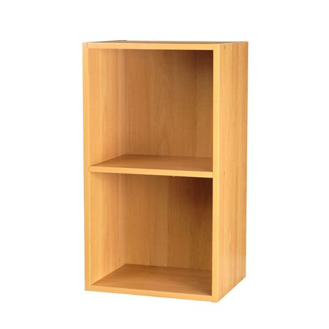 2 4 tier wooden bookcase shelving bookshelf storage