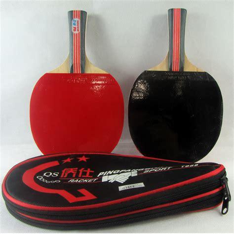 wood ping pong paddle table tennis rubber pingpong bat