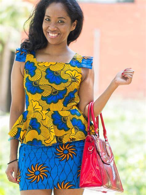 tenues africaines en tissu pagne image modele tenue africaine en pagne imprim 233 s africains