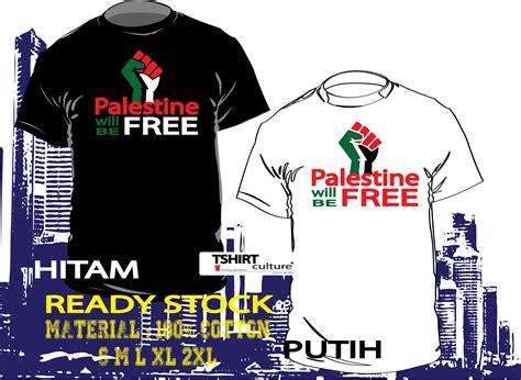 Kaoa Baju T Shirt Free Palestina aagprint tshirt palestine will be free
