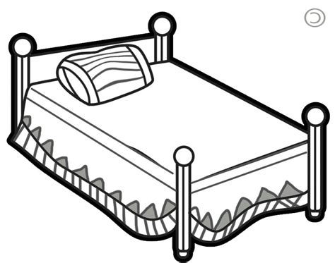 bed clipart bedroom clipart black and white www redglobalmx org