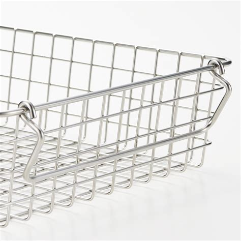 muji baskets stainless steel wire basket with handle 無印良品 muji