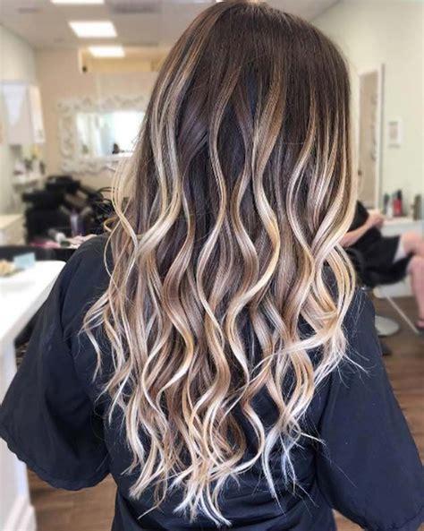 dark brown hair with blonde highlights diy best 25 cute hair colors ideas on pinterest