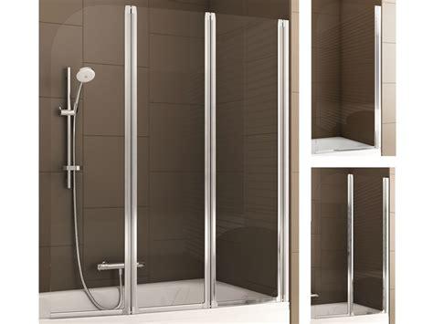 Dusch Faltwand Badewanne by Aquaform Badewannenfaltwand 1 2 Oder 3 Teilig
