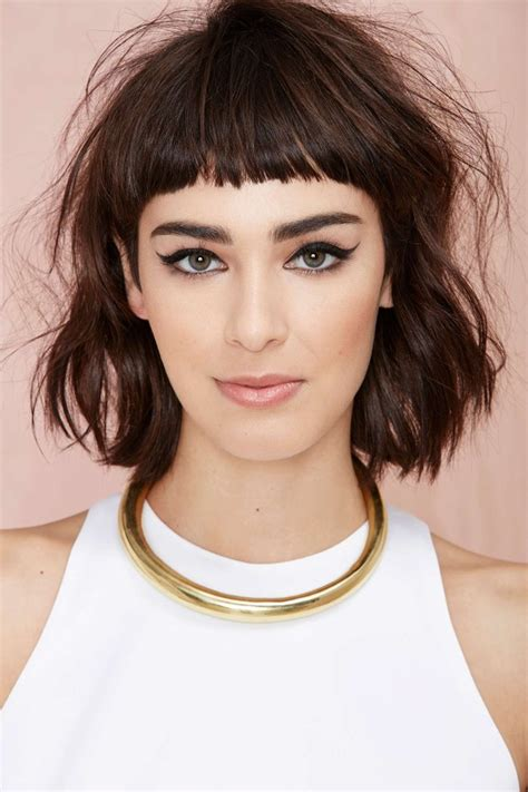 a frame hairstyles with bangs 17 medium haircuts to schedule your next appt for