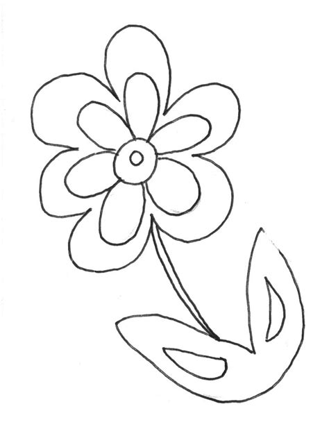 coloring pages of flowers free free paper flowers coloring pages