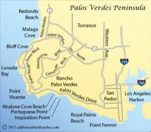 california peninsula map palos verdes peninsula beaches directions mobile