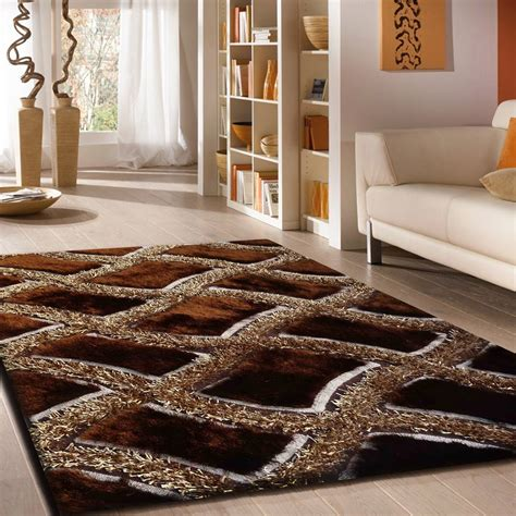 fashionable brown area rug color the wooden houses