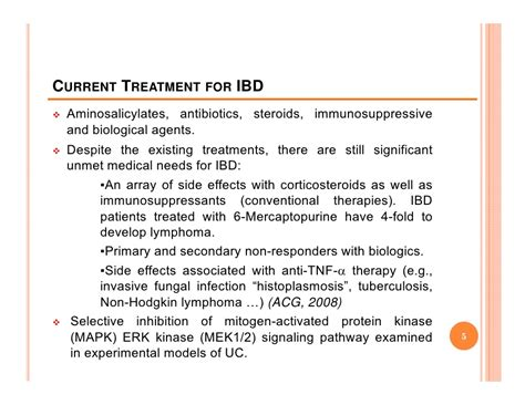 Wso Mba Ibd Assocaite by Inhibition Of Mek 1 2 A Therapeutic Approach For