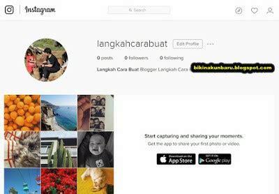 bagaimana cara membuat online shop di instagram bagaimana cara membuat instagram di laptop buat akun