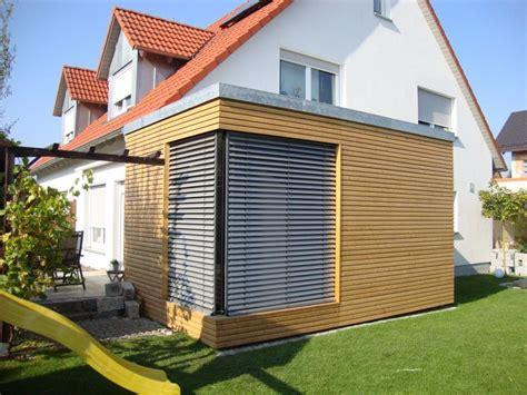 Anbau Haus Holz by Holzanbau Imgarten