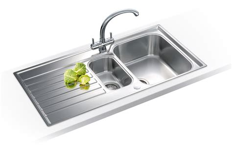 franke kitchen sinks and taps franke ascona propack asx 651 stainless steel kitchen sink