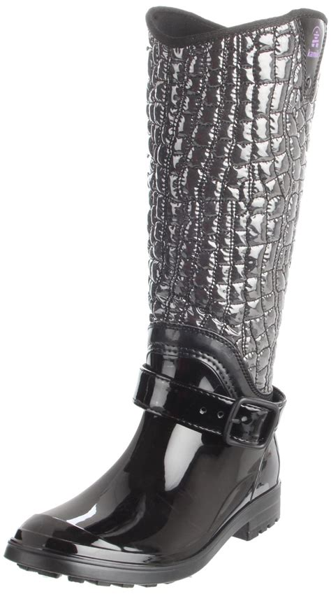 womens insulated boots kamik kamik womens insulated boot in black lyst