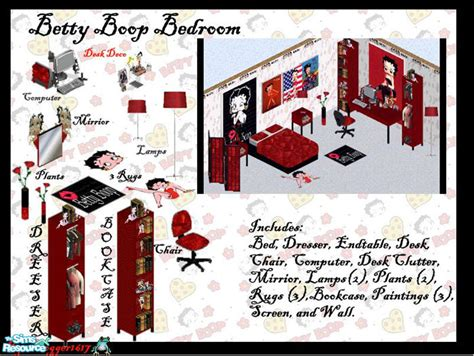 frogger1617 s betty boop bedroom set