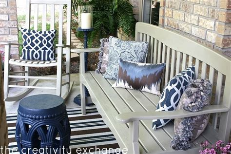 Front Patio Furniture Front Porch Rev How To Spray Paint Outdoor Furniture